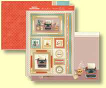 Hunkydory - Special Celebrations Collection - Three Sheet Topper Set New Job CELEB908
