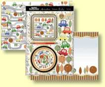 Hunkydory - Special Celebrations Collection - Three Sheet Topper Set Beep! Beep!