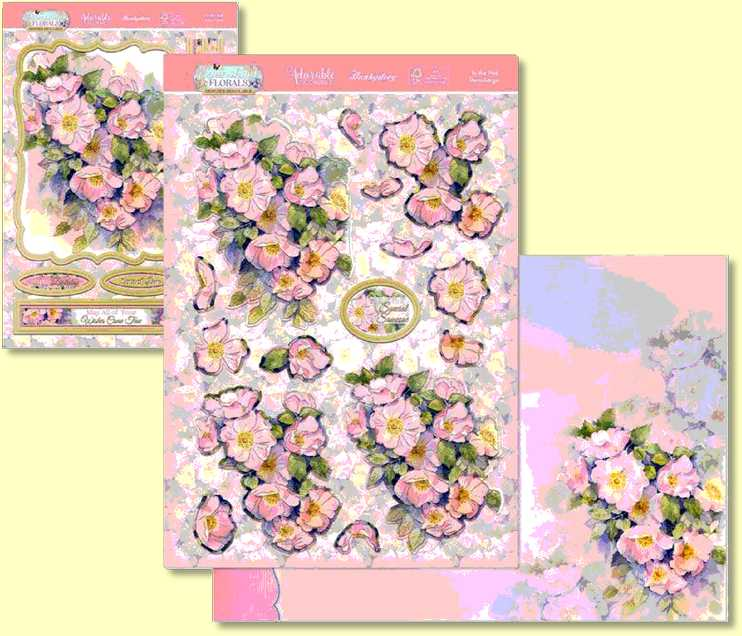 Hunkydory - Flourishing Florals Collection In the Garden FLODEC906