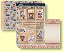Hunkydory - Special Celebrations Collection - Three Sheet Topper Set Home, Sweet Home CELEB910