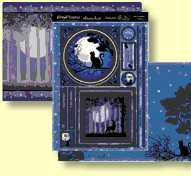 Hunkydory Twilight Kingdom - One Enchanted Evening TWILIGHT906, Three Sheet Topper Set