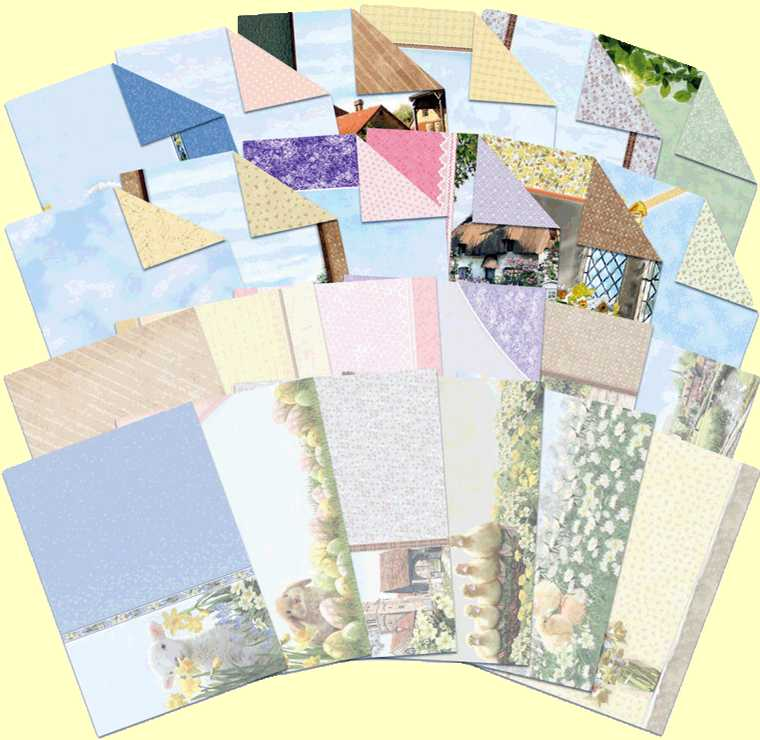 Image For Spring Days & Country Life Inserts and Paper Pack