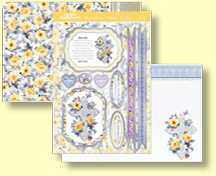 Hunkydory - Special Celebrations Collection - Three Sheet Topper Set Precious Little One CELEB904