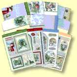 Christmas in the Snow Deluxe Card Collection, makes at last four Festive Cards