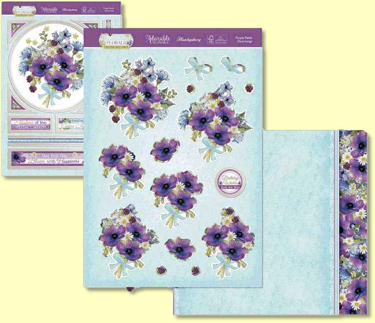 Lilac is a symbol of love, and this set is filled with loving sentiments and gorgeous lilac florals perfect for spreading happiness. It also features detailed corner dies perfect for adding a striking element to your makes. Includes beautiful borders and sentiments.