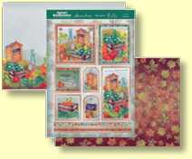 Hunkydory - Special Celebrations Collection - Three Sheet Topper Set On Your Retirement CELEB909