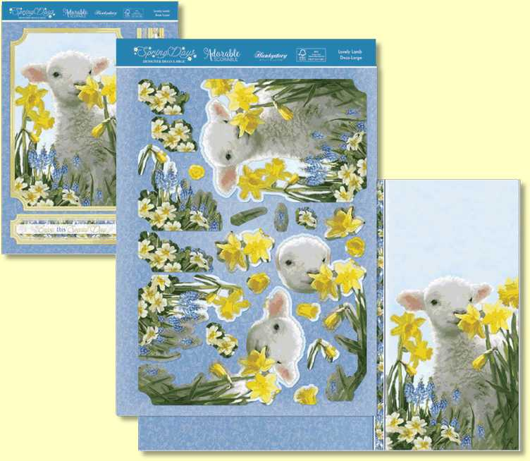 Deco Large - Lovely Lambs SPRINGDAYS904