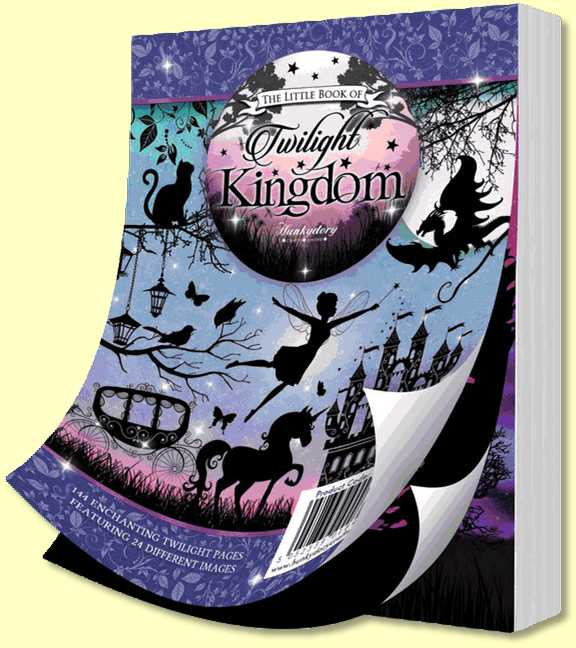 Hunkydory Little Book of Moonlight Kingdom - 140 Pages