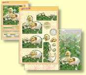 Hunkydory - The First Signs of Spring Deco Large Set - Little Duckling